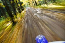 Motorcycle Accident Causes – No Second Party Present